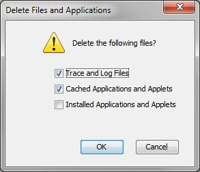 Delete Files and Applications